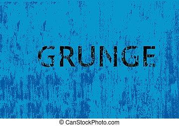 blu, vettore, grunge, fondo