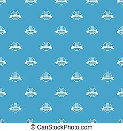 blu, vettore, modello, seamless, costruzione, decotrative