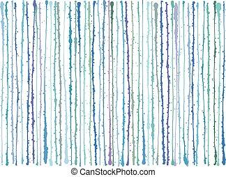 blu, viola, grunge, linee, splatter