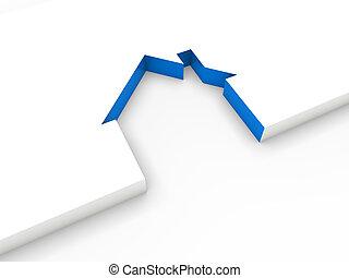 blue épület, egyenes, 3