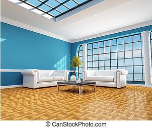 blue épület, tengerpart, klasszikus