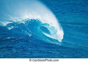blue óceán, lenget