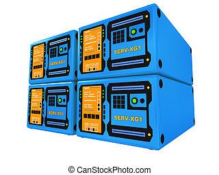 Blue 3d servers #4