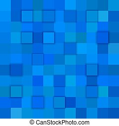 Blue abstract 3d cube background