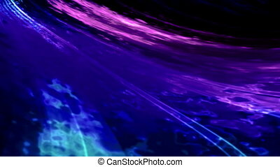 Blue abstract animated surface warp - Animated blue abstract...