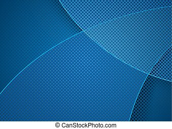 Abstract Background and Grid Pattern