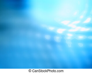 Blue Abstract Background - Blue abstract background with ...