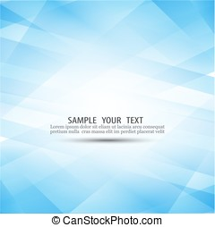 Blue abstract background composed of blue geometric shapes in different shades.Technology background.
