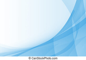 Blue Abstract Background Design