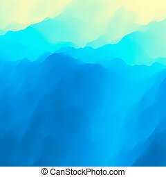 Blue Abstract Background. Design Template. Modern Pattern. Illustration For Your Design.