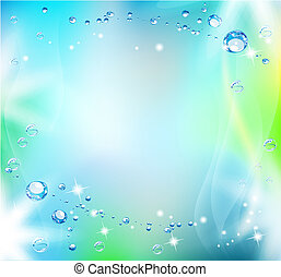 Blue abstract background - Abstract background. Beautiful...