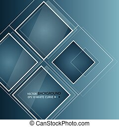 Blue abstract background in techno style. Modern business...