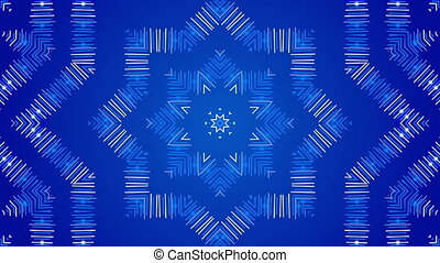 blue abstract background, loop