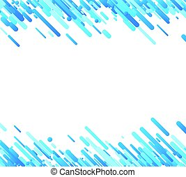 Blue abstract background on white.