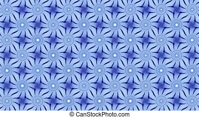 blue abstract background, ornament