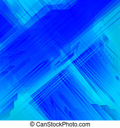 Blue abstract background with high