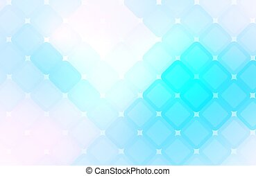 Blue abstract background  with mosaic pattern