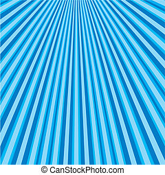 Blue abstract background with strips, vector illustration