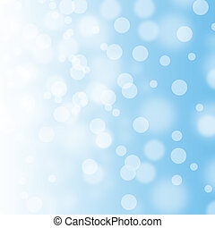 blue abstract blur bokeh background