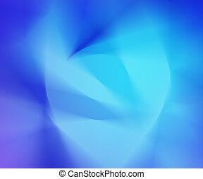 Blue Abstract Blur