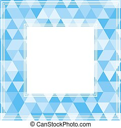blue abstract border - Abstract border with light and bright...