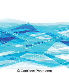 Blue abstract business background
