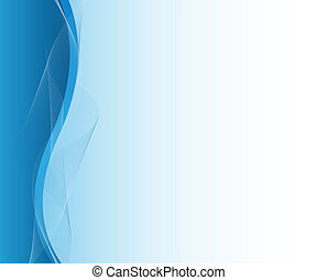Blue abstract business design