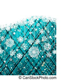 Blue abstract christmas background. EPS 8