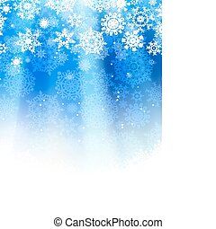Blue abstract christmas. EPS 8