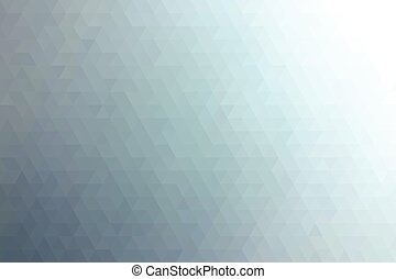 Blue abstract geometric background.