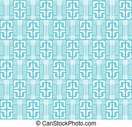 blue abstract geometric pattern for the background, (vector)
