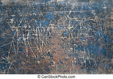 blue abstract grunge