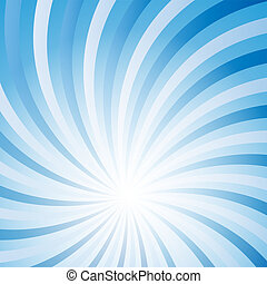 Blue abstract  hypnotic background vector illustration