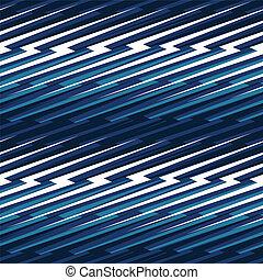 Blue abstract lightning seamless pattern