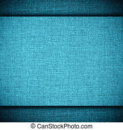 blue abstract linen background or grid pattern textile...