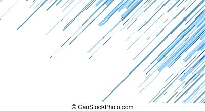 Blue abstract lines technology futuristic vector background
