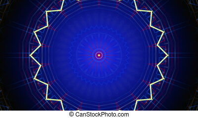 blue abstract loop background
