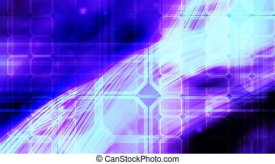 Blue Abstract Looping Background