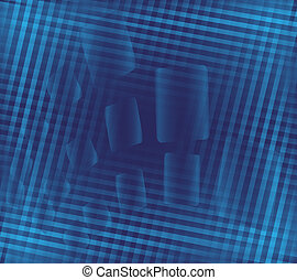 Blue abstract metalic background