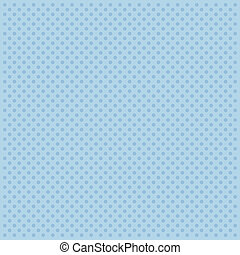 Blue abstract pattern with dots.