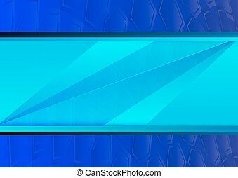 Blue abstract poly background with copy space