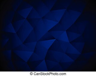 Blue Abstract Polygon texture background