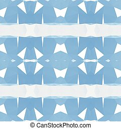 Blue abstract polygonal triangle pattern background