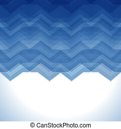 Blue Abstract Retro Vector Background