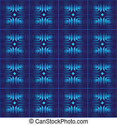 blue abstract seamless vector background