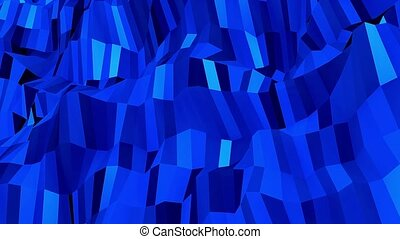 Blue abstract shimmering background