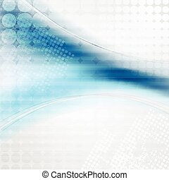 Blue abstract technology background. Vector design