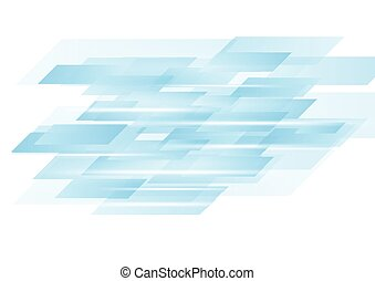 Blue abstract technology vector design