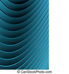 Blue abstract vector waves