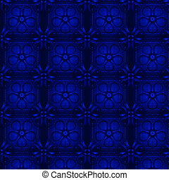 Blue abstract wallpaper. Seamless